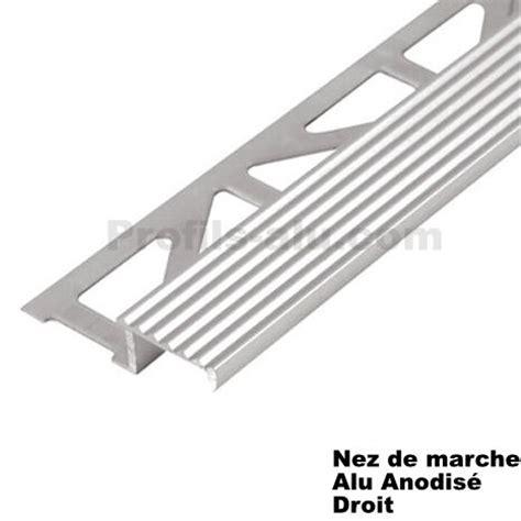 nez de marche decoratif alu anodise droit pour vos escaliers www profils alu