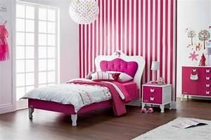 Bett Für Mädchen : 125 einrichtungsideen f r ein sch nes m dchenzimmer ~ Markanthonyermac.com Haus und Dekorationen