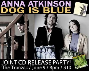 CD Release Party: The Tranzac June 9 w/Anna Atkinson | Dog ...