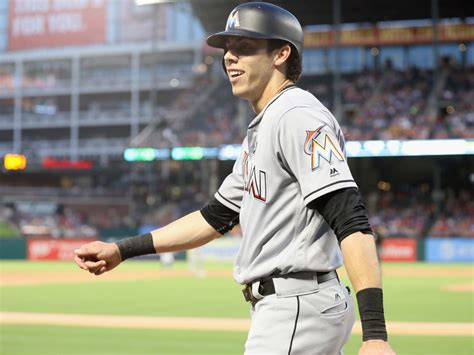 Miami Marlins' Christian Yelich Traded To Brewers For 4