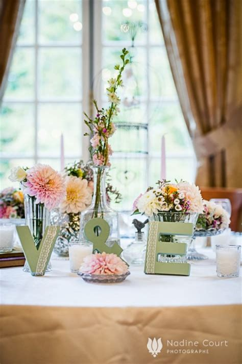 attractive decoration de table pour mariage 4 mon mariage shabby chic mariage 2523 meuble