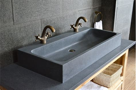 1000mm Double Trough Granite Stone Bathroom Sink  Looan. Tropical Bedroom. Bar Stools. Plugmold. Yellow Area Rugs. Center Island Kitchen. Wall Coverings Lowes. Wall Of Windows. Soothing Bedroom Colors
