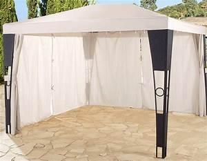 Dach Für Gartenpavillon : ersatzdach f r pavillon 3x3 m gartenpavillon dach beige sand garten neu ebay ~ Markanthonyermac.com Haus und Dekorationen
