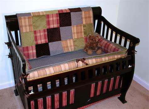 northwoods antique black check four crib set