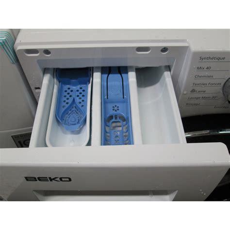 test beko wmy81430 lave linge ufc que choisir