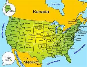 Landkarte: USA   Länder   USA   Goruma