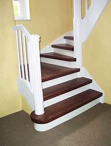 Treppenstufen Weiß Lackieren : wie kann ich meine treppenstufen renovieren ~ Markanthonyermac.com Haus und Dekorationen