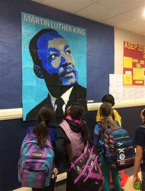 collaborative martin luther king mural projects for