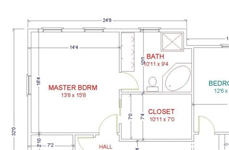 Magnificent Master Bedroom Floor Plans With Bathroom