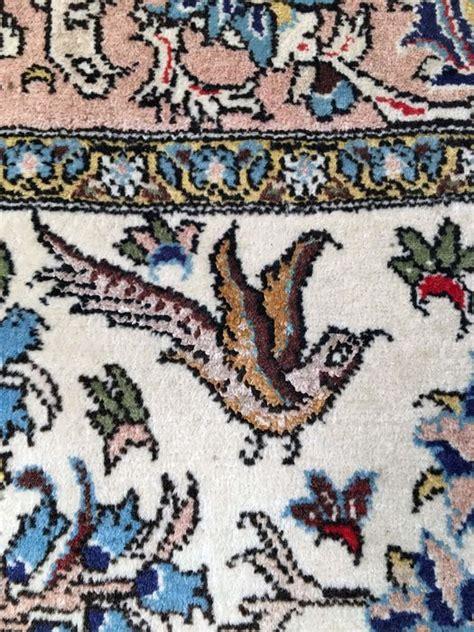 6magnifique tapis iran ghoum et soie
