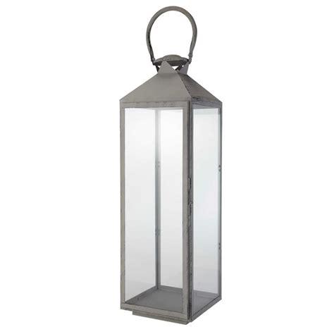 lanterne m 233 tal gris clisson maisons du monde