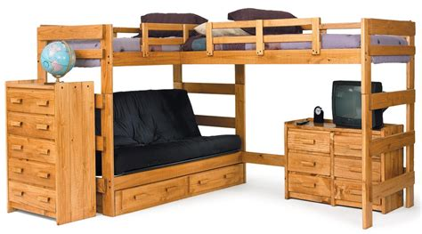 build l shaped bunk bed plan easy ways atzine