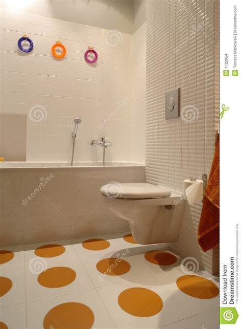 salle de bains moderne color 233 e pour l enfant images stock image 1722954
