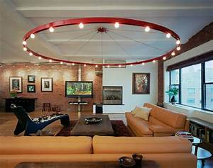 Wohnzimmer Deckenleuchte Modern : living room lighting ideas on a budget roy home design ~ Markanthonyermac.com Haus und Dekorationen