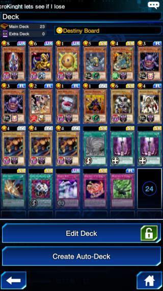 destiny board skill yugioh duel links gamea