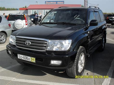 Land Cruiser 100 by 2005 Toyota Land Cruiser 100 Pictures Information And