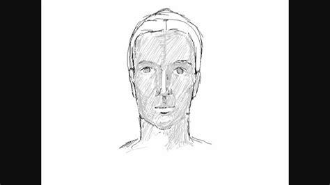 dessin d 180 un visage d 180 homme comment dessiner
