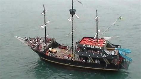 Barco Pirata Venda by V 237 Deo Passeio De Escuna Em Porto Belo Barco Pirata