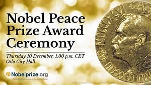 2015 Nobel Peace Prize Ceremony - YouTube