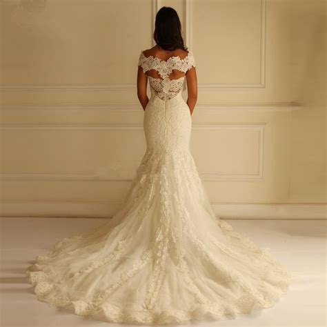 new lace appliqued modern 2016 patterns backless mm 1702 bridal gown customized robe de mariee
