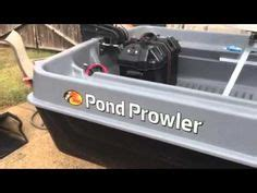 Zoffinger Round Boat by My Pond Prowler 8 Foot Mini Bass Boat Youtube Fishing