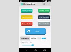 android flat button Stack Overflow