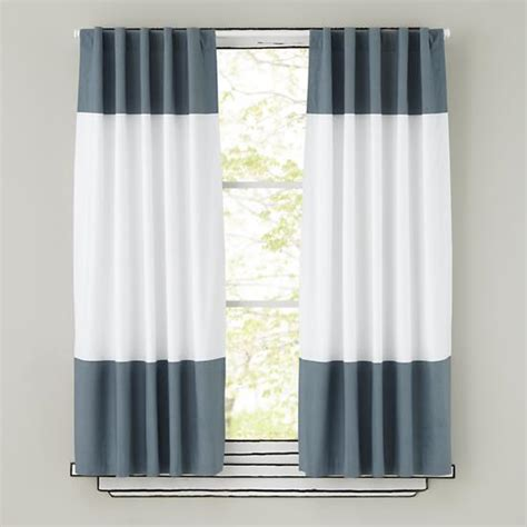 grey and white curtain panels the land of nod
