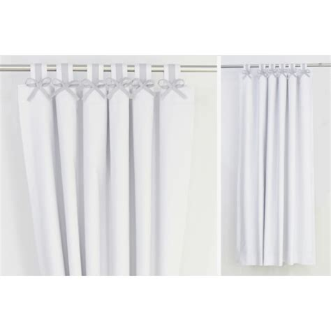 grey white nursery curtains