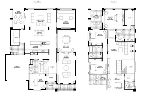 best two storey house plans ideas on 2 6 bedroom family two story house plans 17 best 1000 ideas about narrow
