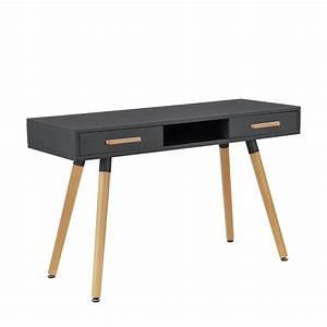 Schreibtisch Und Stuhl : retro schreibtisch stuhl grau computertisch b ro tisch konsole ebay ~ Markanthonyermac.com Haus und Dekorationen