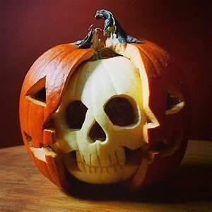 Bemalte Kürbisse Vorlage : originelles halloween k rbis schnitzen sch del hallo pinterest halloween k rbis schnitzen ~ Markanthonyermac.com Haus und Dekorationen