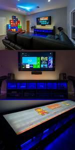 Gaming Zimmer Ideen : die besten 25 zocker zimmer ideen auf pinterest videospielorganisation pc gaming setup und ~ Markanthonyermac.com Haus und Dekorationen