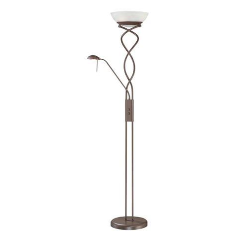 filament design cassiopeia 72 in rubbed bronze torchiere l cli kll1112354 the home depot