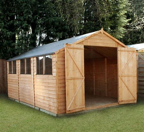 15 x 10 overlap modular workshop what shed
