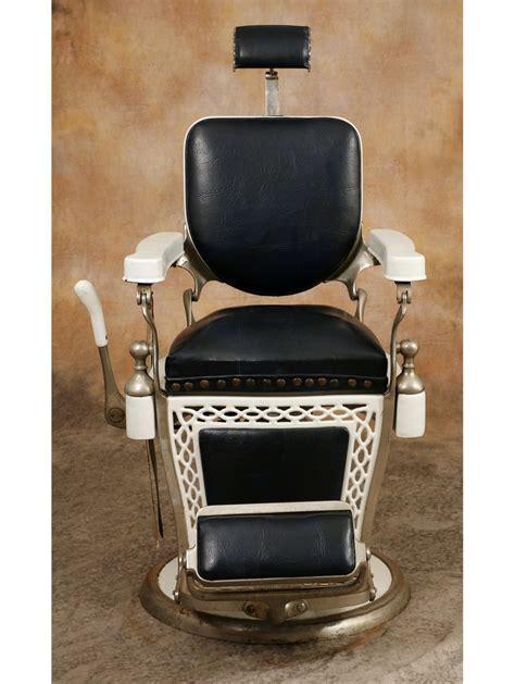 vintage emil j paidar barber chair