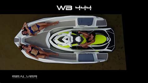 Jet Ski Boat Youtube by Conhe 231 A O Wave Boat 444 Boat Propelled By A Jet Ski