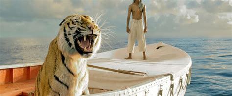 Movie Boy In Boat With Tiger by Life Of Pi Movie Review Film Summary 2012 Roger Ebert