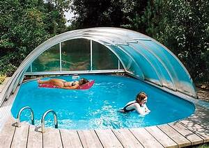 Kleiner Garten Mit Pool Gestalten : pool schiebedach variable schwimmbecken berdachung ~ Markanthonyermac.com Haus und Dekorationen