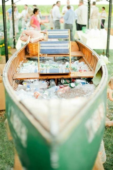 Paper Boat Drinks How To Use by Pirogue Ice Chest Good Ideas Pinterest Coolers Ice