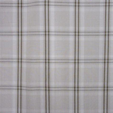 wilton cotton plaid beige mocha drapery fabric by waverly
