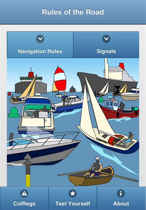 Boat Flags Rules by Colregs Learn Nautical Rules Of The Road Power Boating
