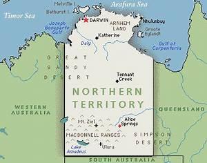 N.T.. Mainland Australia. Australia