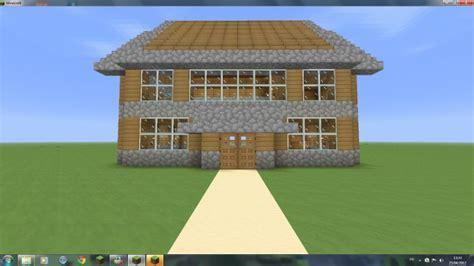 minecraft maison en bois simple
