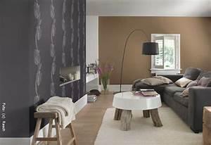 Wohnzimmer Wandfarbe Sand : tapeten naturtoene verbreiten behaglichkeit wohnen ~ Markanthonyermac.com Haus und Dekorationen