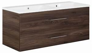Waschtischunterschrank 120 Cm : schulz badprofi fackelmann waschtisch waschtischunterschrank 120 cm braun ulme ~ Markanthonyermac.com Haus und Dekorationen
