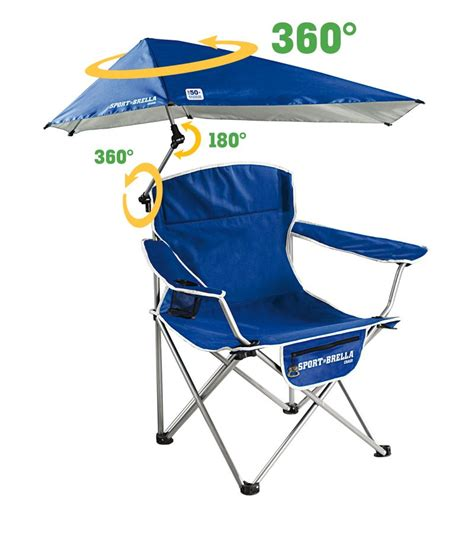 sport brella portable folding cing chair blue folding 360 umbrella