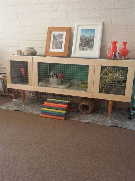 Large Indoor Rabbit Hutch, Diy Rabbit Cage Ideas