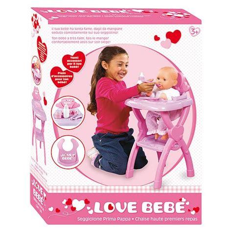 Chaise Haute Love Bebe  King Jouet, Poupons, Bébés Love