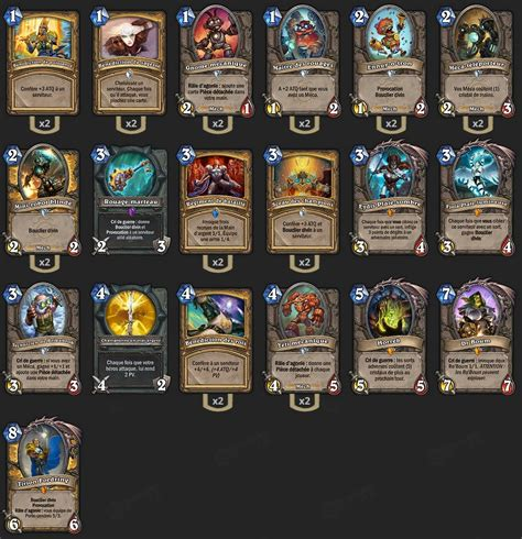 deck paladin m 233 ca tgt reynad hearthstone heroes of warcraft paladin uther