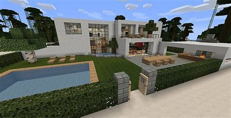 Modern Mansion By Blakedolak 40 Sub Special! Minecraft Project
